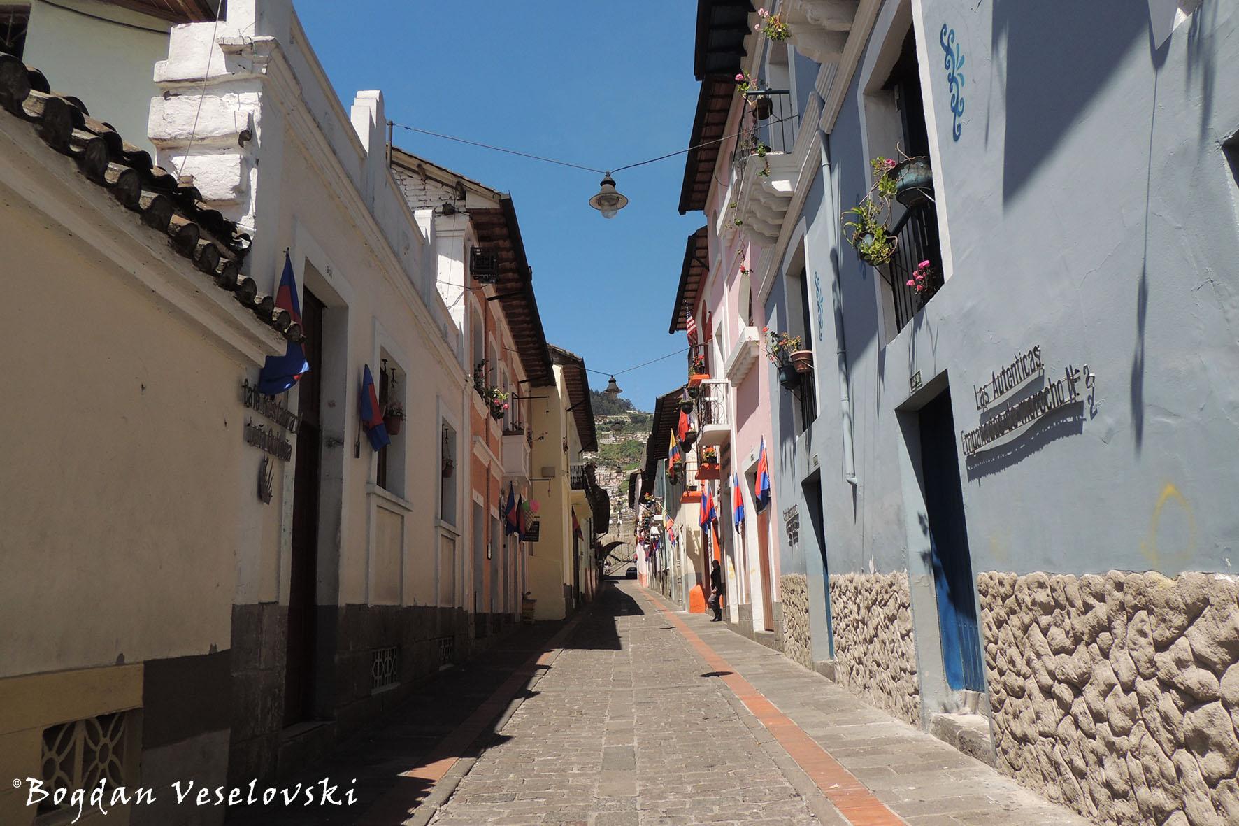 Casco Histórico – San Francisco, Santo Domingo & La Ronda
